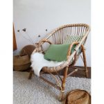 Fauteuil rotin en corbeille - The French Cactus