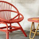 Comment peindre un fauteuil en rotin naturel ?